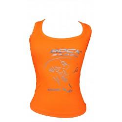 Camiseta técnica chica - Naranja - L